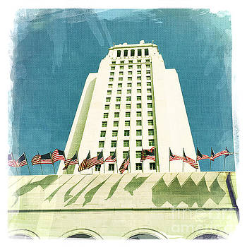 Los Angeles City Hall by Nina Prommer