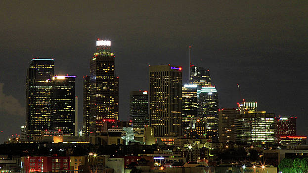 Los Angeles City Lights by Shoal Hollingsworth