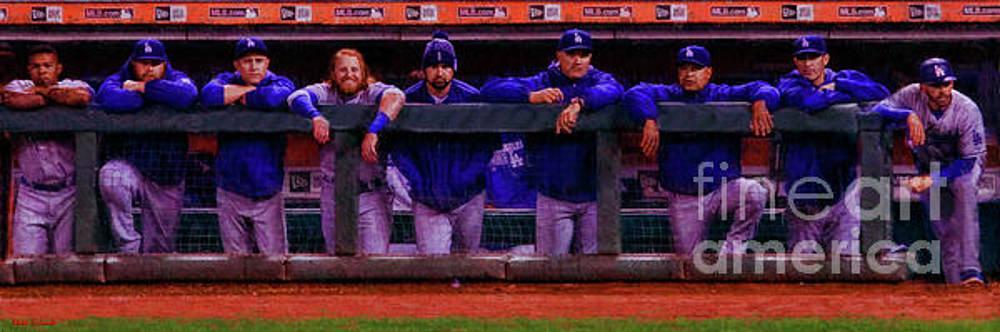 Blake Richards - Los Angeles Dodgers Dugout