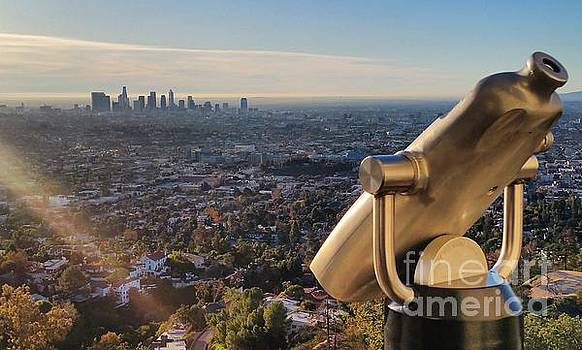 Gregory Dyer - Los Angeles Downtown from Griffith Observatory