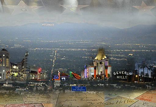 Los Angeles Montage by Jennifer Ferrier