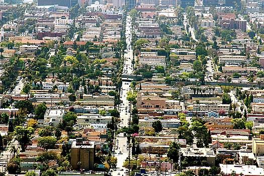 Los Angeles Neighborhood by Gary Dunkel