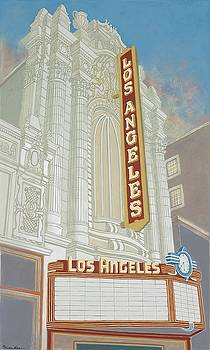Los Angeles Theatre by David Hinchen