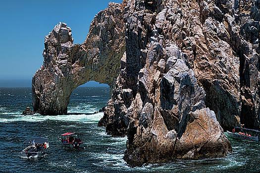 Los Arcos in Baja California Mexico by David Smith