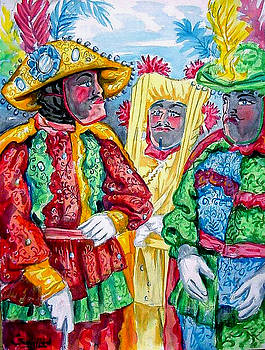 Los Caballeros by Samuel Lind