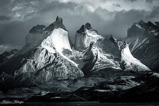 Los Cuernos in Black and White by Andrew Matwijec