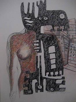Los dioses y la ciudad by Leonardo  Ibanez