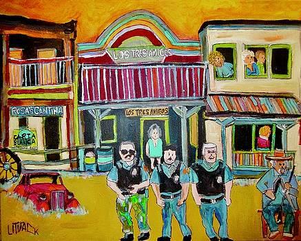 Los Tres Amigos by Michael Litvack