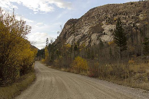 Lost Creek road by Dana Moyer