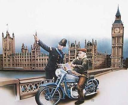 Lost in London by Harry Miller