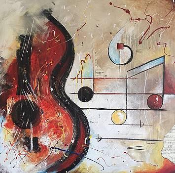Lost in Music by Germaine Fine Art