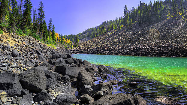 Lost Lake on Grand Mesa, CO by James O Thompson