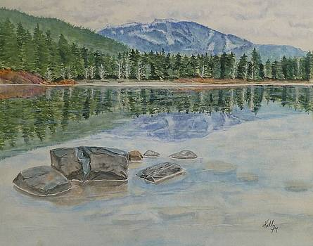 Lost Lake Whistler BC Canada by Kelly Mills