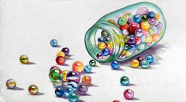 Lost My Marbles by Gail Zavala
