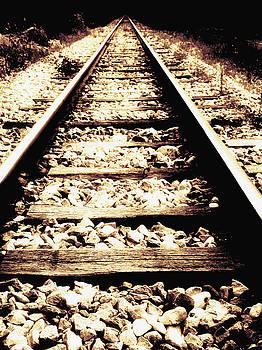 Lost railway by Guy Jean Genevier