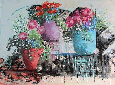 Lots of Pots by Rosemary Juskevich