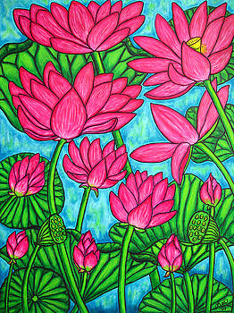 Lotus Bliss by Lisa  Lorenz