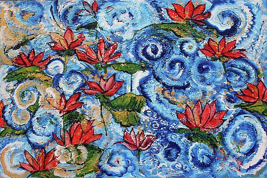 Lotus Cloud Sea 201759 by Alyse Radenovic