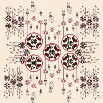 Lotus Design by Artist Nandika Dutt