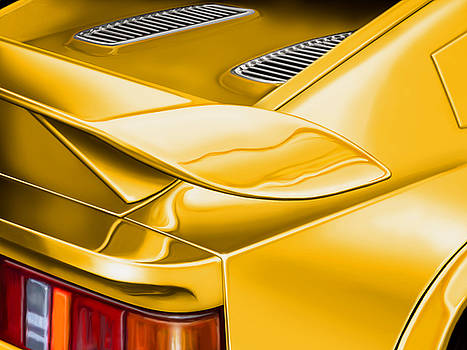 Lotus Esprit Detail by David Kyte