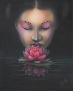 Lotus Flower by Wayne Pruse