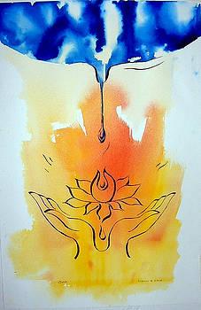 Lotus Hands by Wendy Wiese