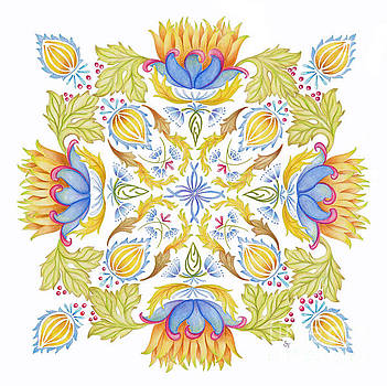 Lotus Mandala by Stephanie Troxell