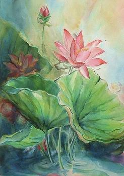 Lotus of Hamakua by Wendy Wiese