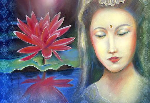 Lotus Yin by Lucinda Rae