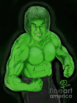Lou Ferrigno's Hulk by Joseph Burke