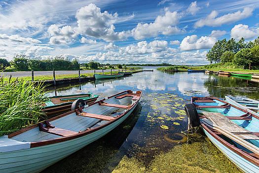 Lough O'Flynn, Roscommon, Ireland by Anthony Lawlor