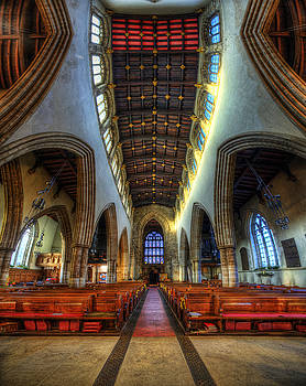 Yhun Suarez - Loughborough Church - Nave Vertorama