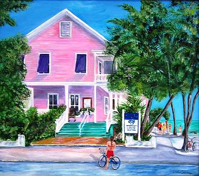 Louie's Backyard Key West by Linda Cabrera