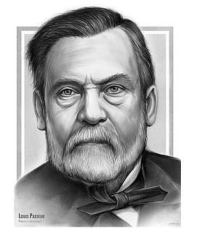 Louis Pasteur  by Greg Joens