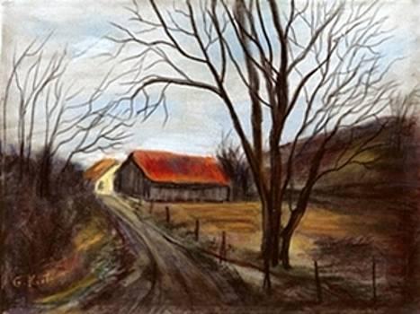 Louisa Kentucky Barn by Gail Kirtz