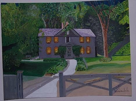 Louisa May Alcott's Home by William Demboski
