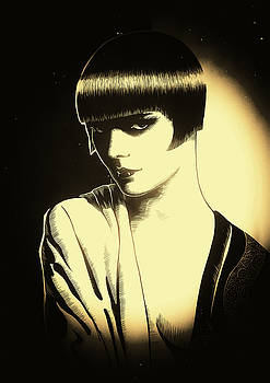 Louise Brooks - Diary of a Lost Girl by Dino Olivieri