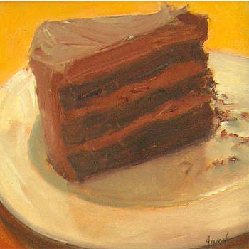 Louise's Chocolate Cake by Margaret Aycock