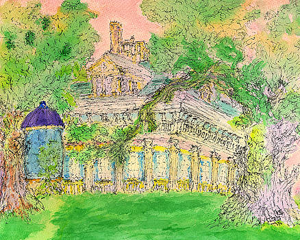Louisiana Antebellum by Bruce Blanchard