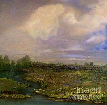 Louisiana Countryside by Monica Hebert