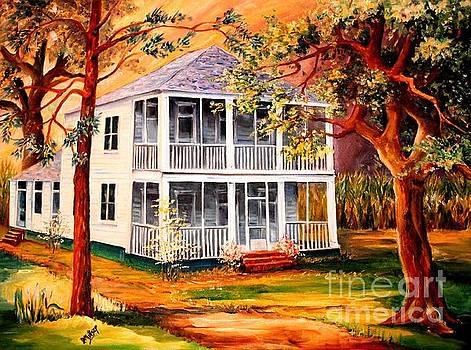 Louisiana Family Home by Diane Millsap