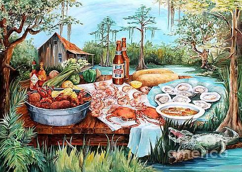 Louisiana Feast by Diane Millsap