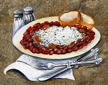 Louisiana Red Beans and Rice by Elaine Hodges