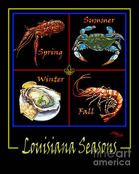 Louisiana Seasons by Dianne Parks