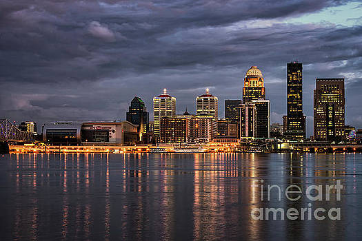 Louisville at Dusk by Andrea Silies