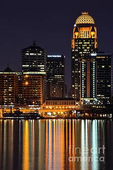 Bob Phillips - Louisville Skyline After Dark