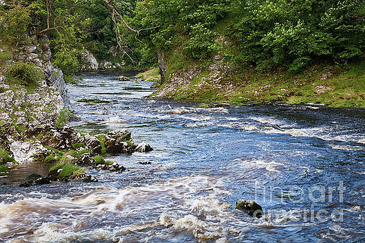 Loup Scar and the River Wharfe by Gavin Dronfield