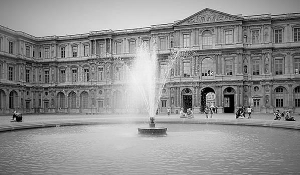 Marla McPherson - Louvre Fountain One