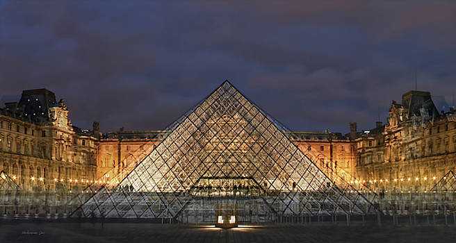 Louvre by Jos Verhoeven