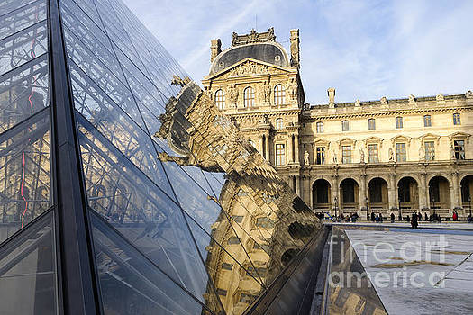 Louvre Museum and Palace in Paris, by Perry Van Munster